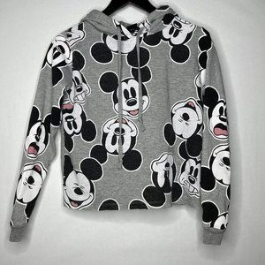 Disney Mickey Mouse Allover Print Hoodie